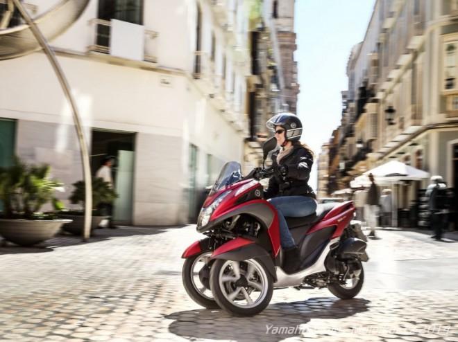 Yamaha Tricity: novinka 2014