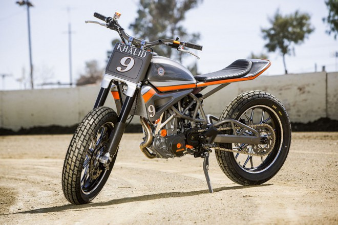 KTM 690 Tracker od Roland Sands Design