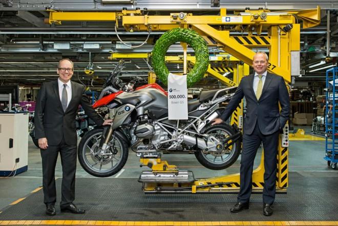 BMW GS slaví 500.000 kusù