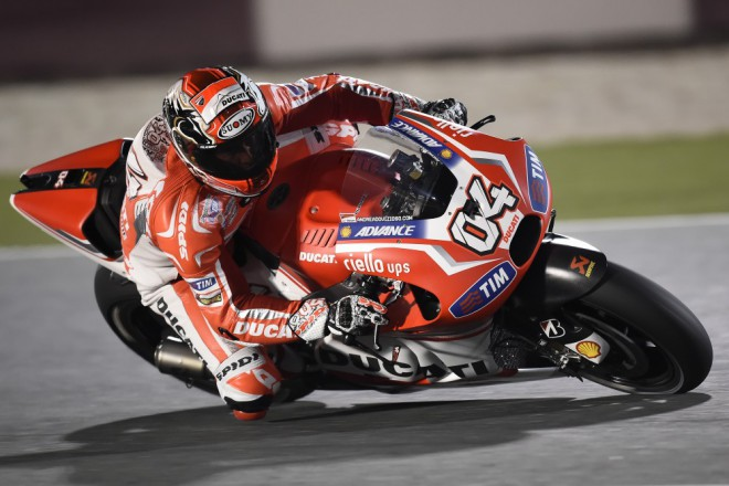 Tov�rn� st�j Ducati testovala v Andalusii
