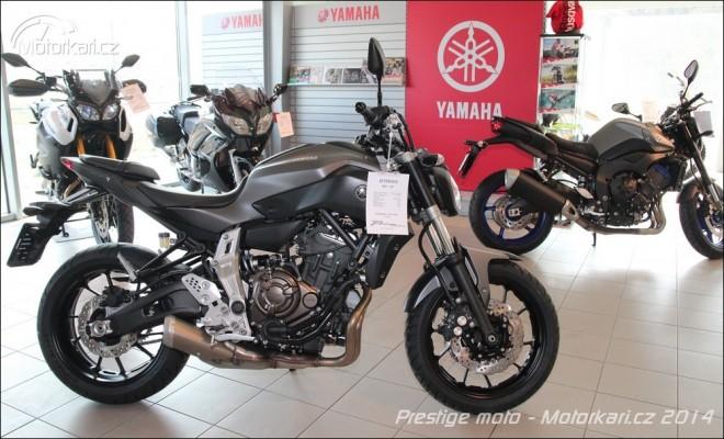 Yamaha nov� v Prestige moto