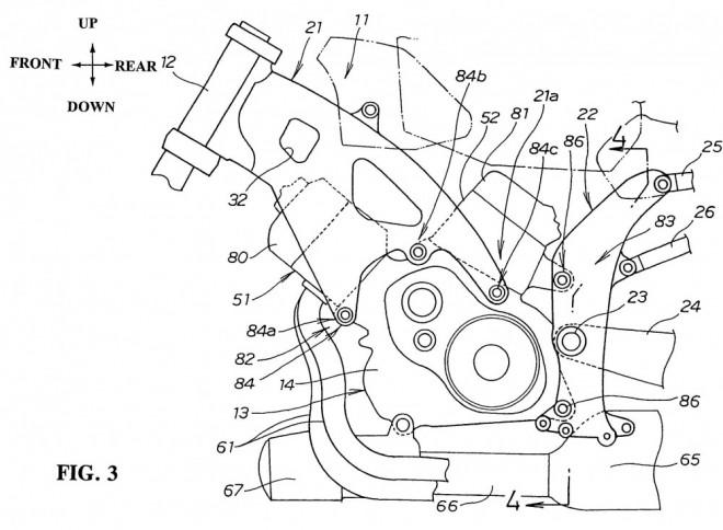 "Zapomenutý ""frameless"" patent od Hondy"