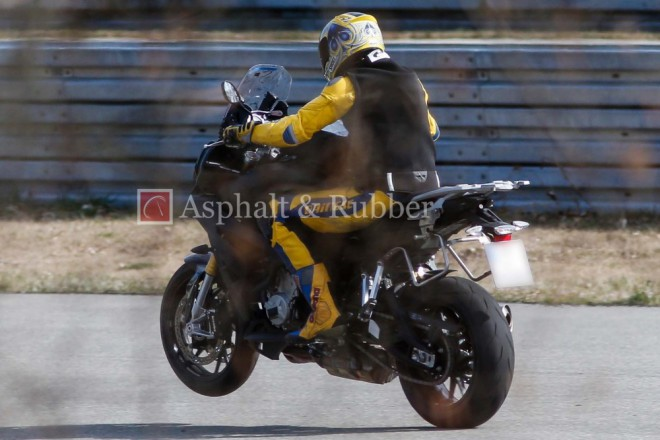 Spy Photos - BMW S 1000 F