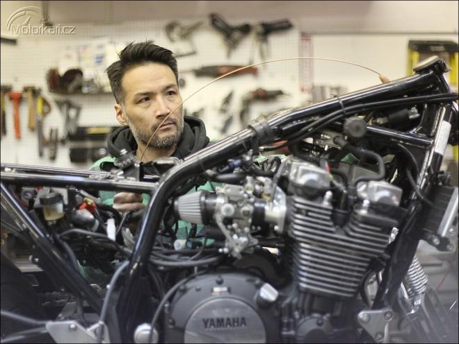 Yamaha XJR1300 by Keino