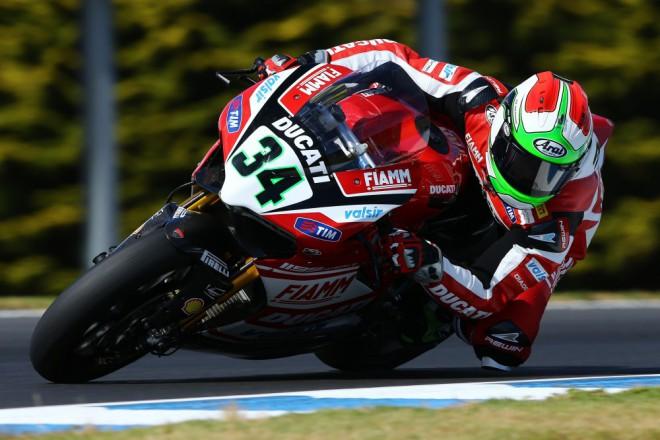 Superbiková Ducati byla v Jerezu nejrychlejší