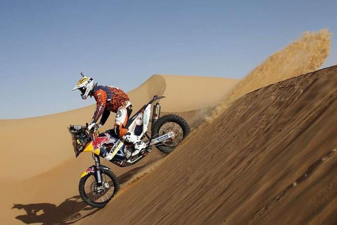 Po 2. etapì Abu Dhabi v èele jezdci KTM