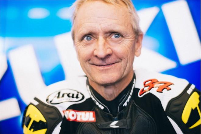 Kevin Schwantz vyzkoušel Suzuki MotoGP