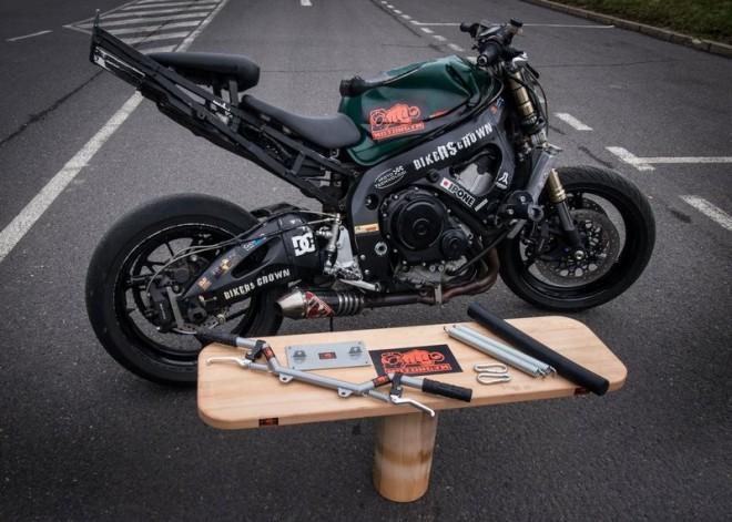 Motorgym - od jezdcù pro jezdce