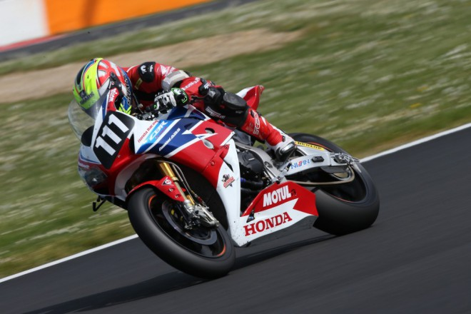 Bol d'Or: Pole position má Honda Racing