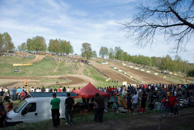 O víkendu se jede motokros v Pacovì