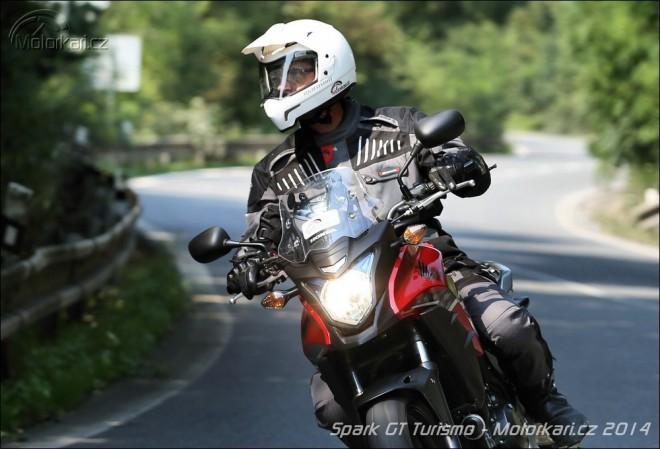 Textilní komplet Spark GT Turismo a rukavice Spark GP Tec