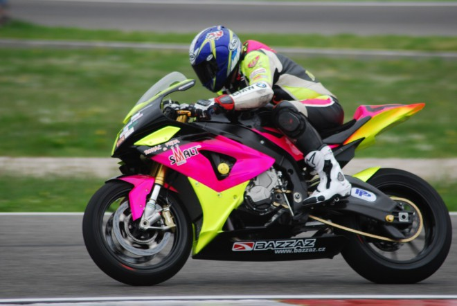 V Itálii závodil Michal Prášek poprvé s BMW