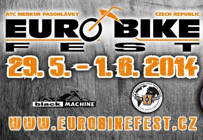 Soutìž o vstupenky na Euro Bike Fest