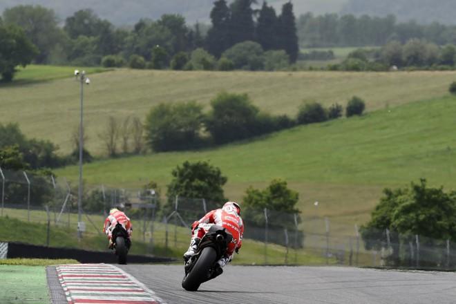 Tým Ducati testoval v Mugellu