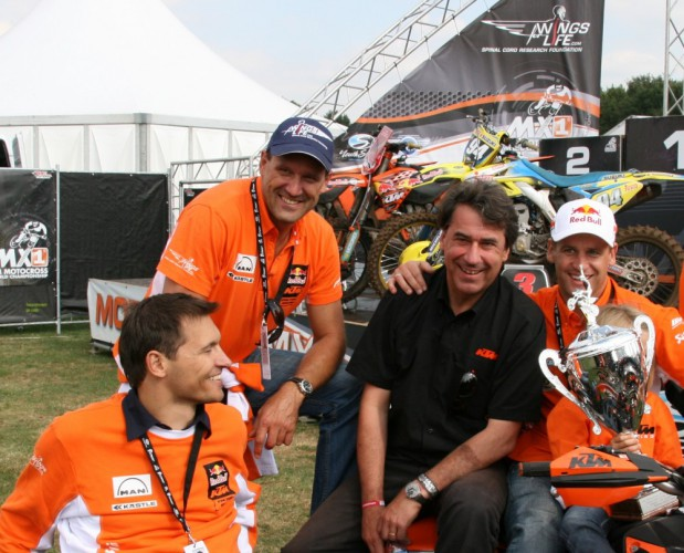 KTM a Wings for Life: 10 let spolu