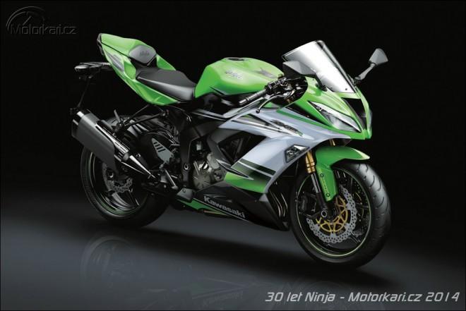 Kawasaki Ninja: speci�ln� edice k 30. v�ro��