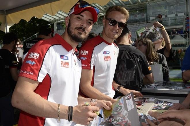 Pro Daviese první domácí podnik v barvách Ducati
