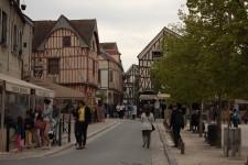 Starobylé ulice mìsta Provins