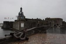 Vstupní brána Concarneau...