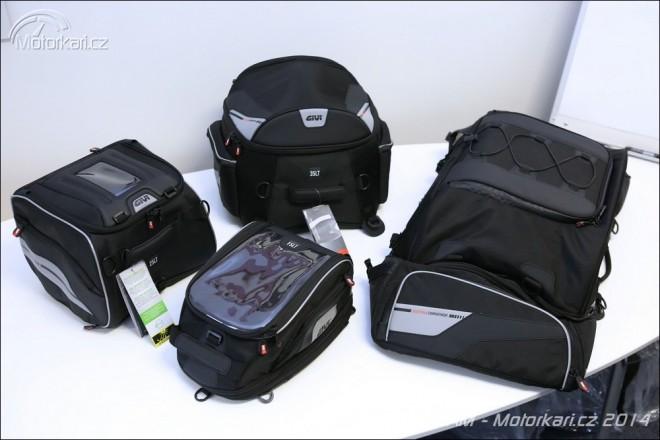 Novinky od Givi - textilní zavazadla Xstream