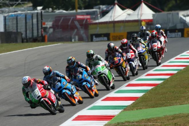 V úterý testují týmy Moto2 a Moto3