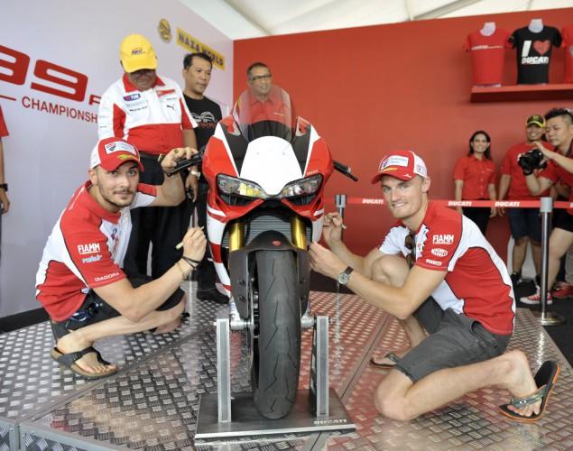 U Ducati válèili s pøilnavostí a chøipkou