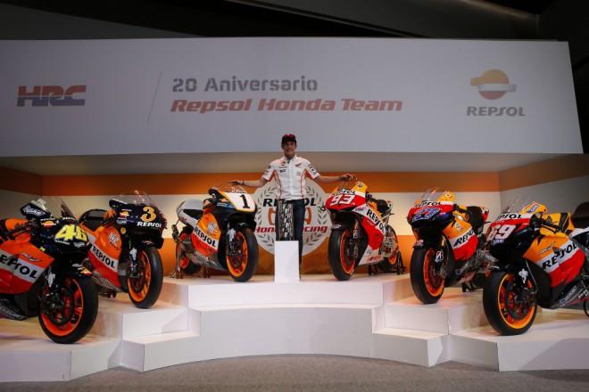 V Barcelonì mùže Honda slavit 100.vítìzství v MotoGP