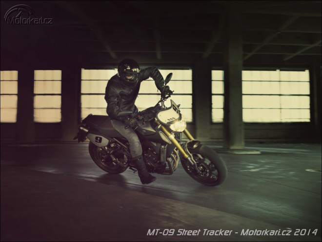 Další MT-09 od Yamahy: Street Tracker