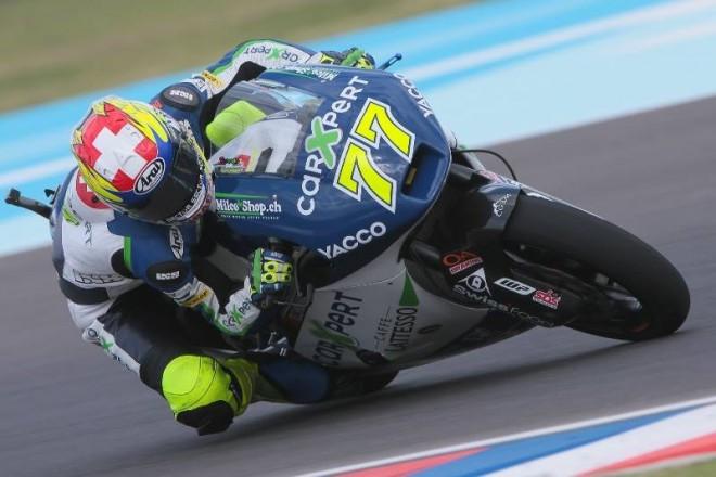 V pondìlí testuje Aegerter stroj tøídy MotoGP