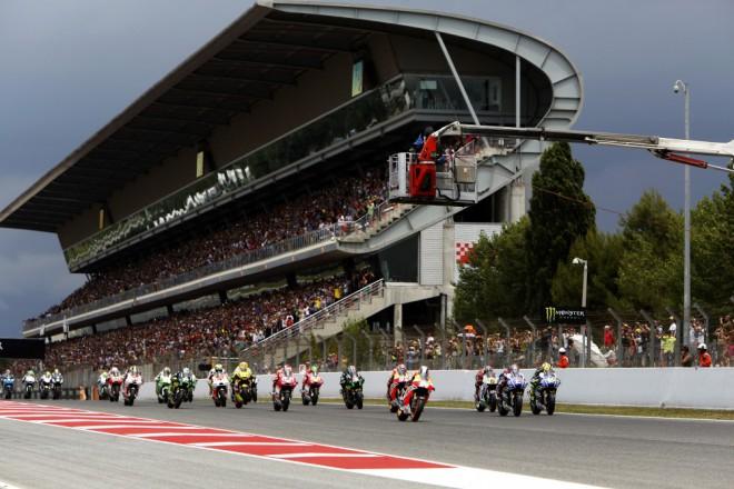 T�my motocyklov�ho �ampion�tu testuj� v Barcelon�