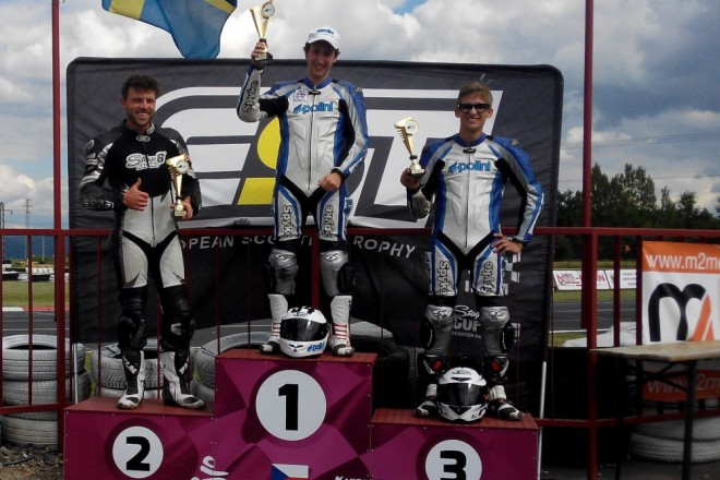 Gellner vyhr�l z�vod European Scooter Trophy