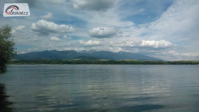Západní Slovensko - pøehrady, nádrže, jezera
