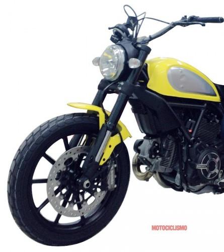 Ducati Scrambler - první fotky