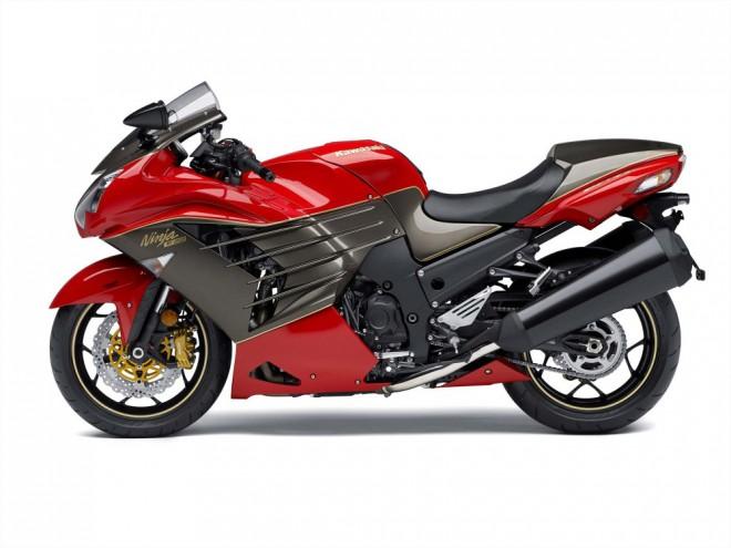 Kawasaki ZZR1400 - limitovan� edice k 30. v�ro��