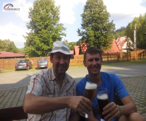 Toulky po Valašku a Zlínsku na Pcx