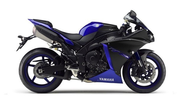 Nová Yamaha R1 model 2015
