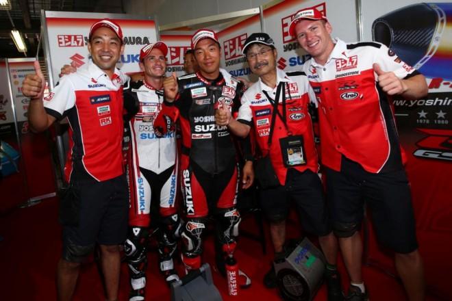 Pole position v Suzuce získal novým rekordem tým Yoshimura Suzuki