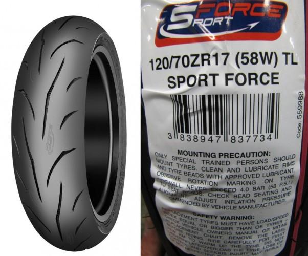 Savatech stahuje pneumatiky Sport Force 2014