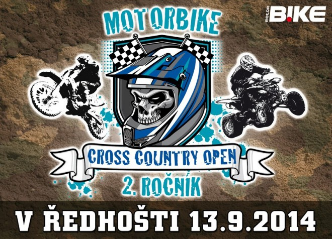 Motorb!ke Cross Country Open 2014 - 2. ro�n�k