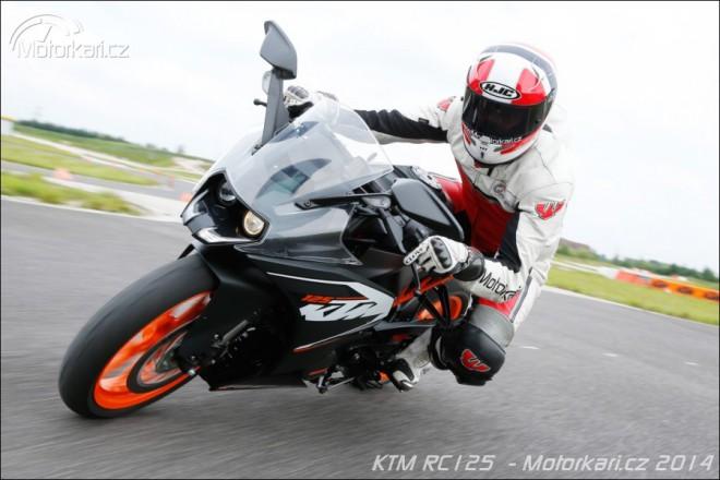 Ro��anda KTM RC 125