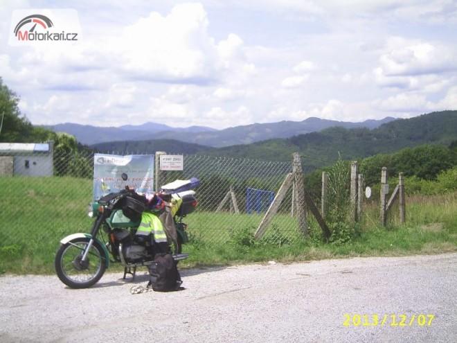 První cesta za hranice na èz 476