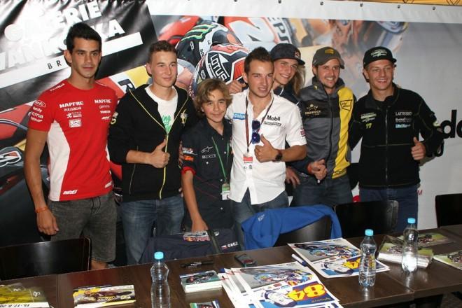 Autogramiáda jezdcù MotoGP ve Vaòkovce