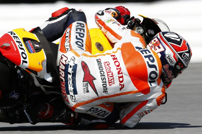 V testu zajel nejrychleji Márquez