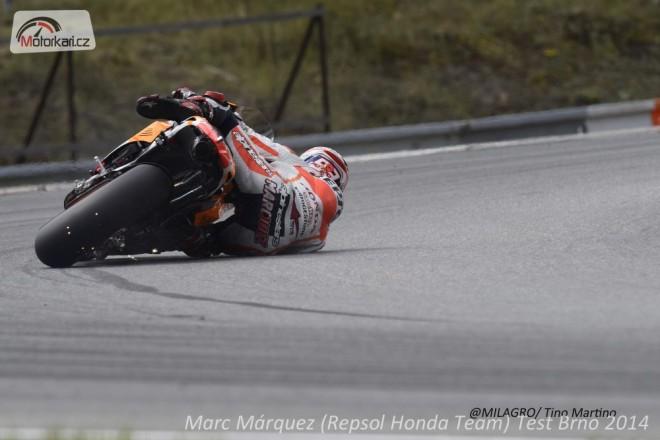 Nejrychlejší èasy zajel Márquez s Pedrosu na nových RC213V