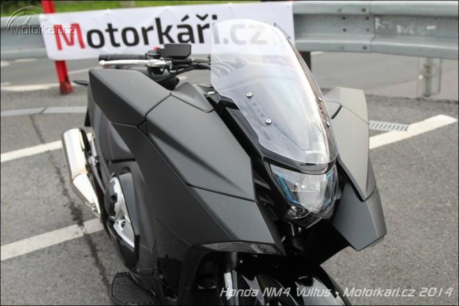 Honda NM4 Vultus: první kus je v ÈR