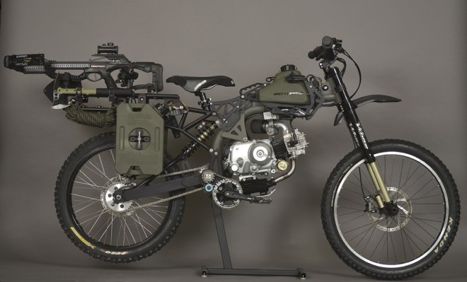 Motoped Survival Bike – jste pøipraveni na konec svìta?