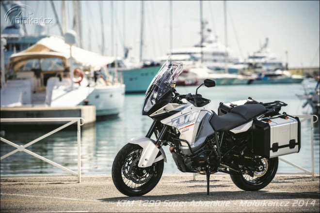 KTM 1290 Super Adventure u� na podzim