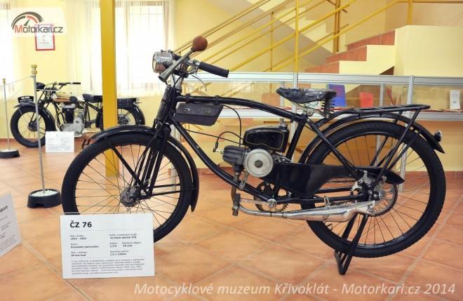 Motocyklov� muzeum K�ivokl�t