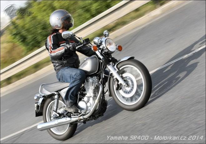 Yamaha SR400 - ze starého železa...