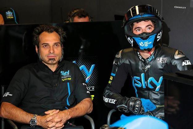 Guareschi konèí u SKY Racing Team VR46